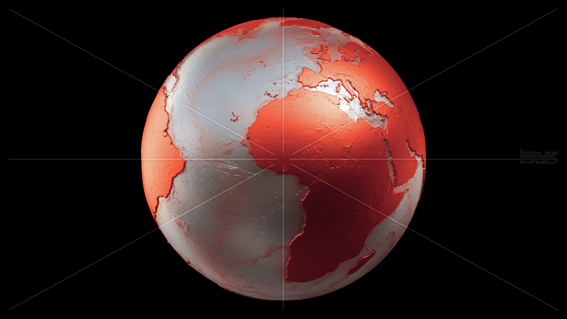 metalic planet earth spin loop versions � bass visuals